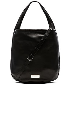 Marc by Marc Jacobs New Q Zippers Huge Hillier Hobo Bag in Black