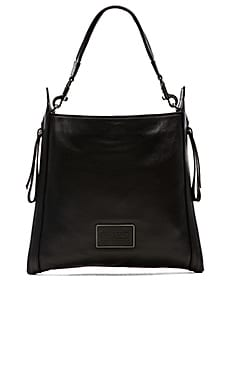 Marc by Marc Jacobs Zip That Hobo Bag in Black