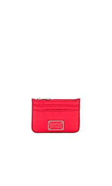 Marc by Marc Jacobs New Too Hot to Lina Wallet in Cambridge Red