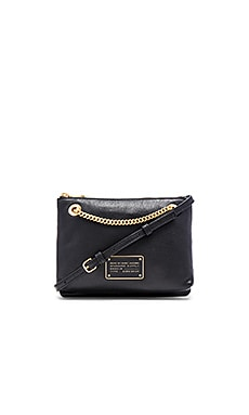 Marc by Marc Jacobs New Too Hot To Handle Doubledecker Crossbody Bag in Black