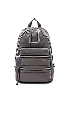 Marc by Marc Jacobs Domo Biker Backpack in Faded Aluminum