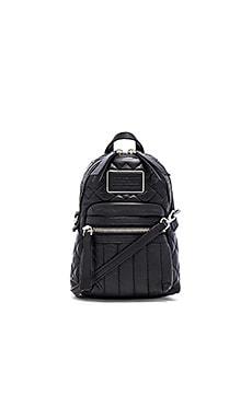 Marc by Marc Jacobs Domo Biker Quilted Cross Biker Backpack in Black