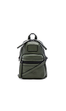 Marc by Marc Jacobs Domo Biker Cross Backpack in Spanish Moss