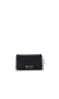 Marc by Marc Jacobs Lone Rider Wingman Wallet in Black