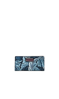 Marc by Marc Jacobs Sophisticato Printed Tomoko Wallet in Blue Multi