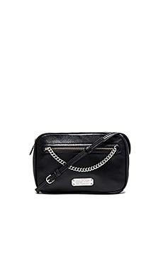 Marc by Marc Jacobs Sally with Chain Crossbody Bag in Black