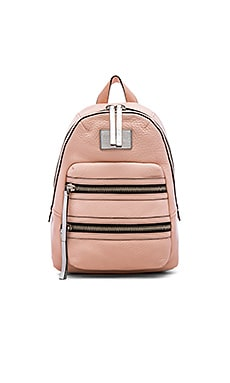 Domo Biker Backpack in Pearl Blush