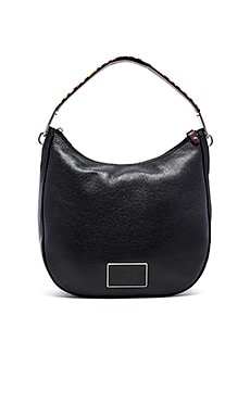 Marc by Marc Jacobs Ligero Leopard Hobo Bag in Black Multi