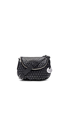 Marc by Marc Jacobs New Q Degrade Studs Mini Natasha Crossbody in Black