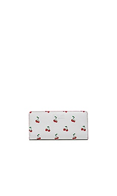 Marc by Marc Jacobs Fruit Tomoko Wallet in Off White Cherry Print