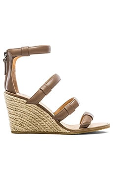 Marc by Marc Jacobs 85 mm Sandal Espadrille Wedge in Taupe