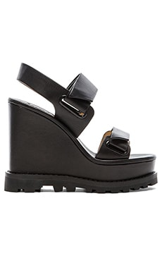 Marc by Marc Jacobs 130 mm Sandal Wedge in Black