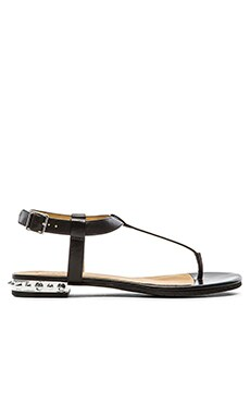 Marc by Marc Jacobs Calf Sandal in Black