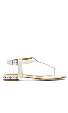 Marc by Marc Jacobs Calf Sandal in Talc