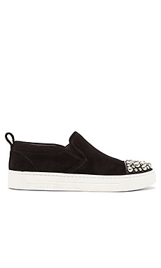 Marc by Marc Jacobs Grand Cute Kicks Slip On in Black
