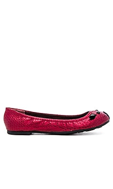 Marc by Marc Jacobs Sacchetto Mouse Flat in Bordeaux