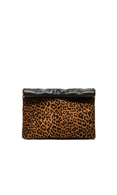 Marie Turnor Lunch Clutch in Cheetah