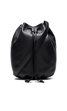 Marie Turnor The Small Libertie Bucket Bag in Black