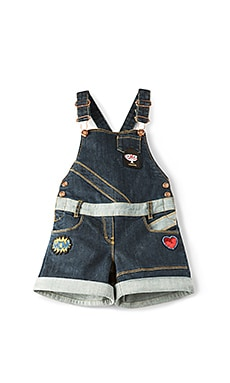 Fancy Patch Overalls