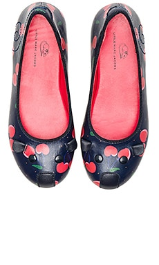 Leather Mouse Ballerina Flat