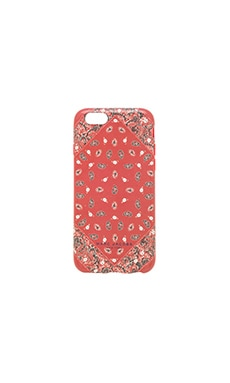 Marc Jacobs Paisley iPhone 6 Case in Chili Pepper Multi