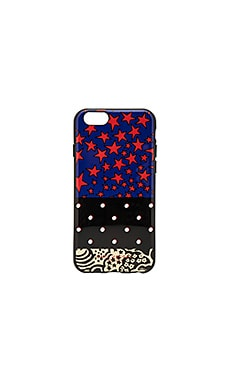 Landscape iPhone 6S Case в цвете Web Blue Multi