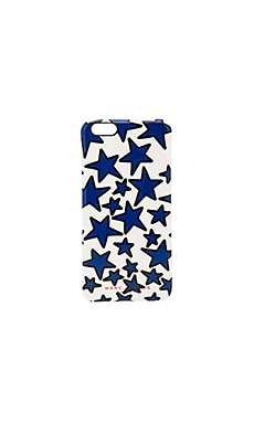 Stars iPhone 6S Plus Case en Múltiple blanco antiguo