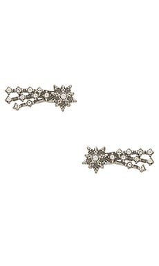 BOUCLES D'OREILLES EN CRISTAL SHOOTING STAR