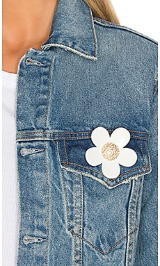 Large Strass Daisy Pin