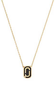 Icon Enamel Pendant Necklace