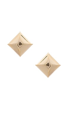 Large Metal Stud Clip Earrings Marc Jacobs $72