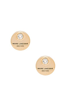 MJ Coin Stud Earrings