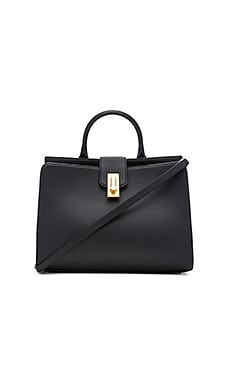 West End Large Top Handle Tote Bag in Black