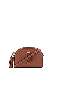 Shutter Small Camera Bag in Cognac