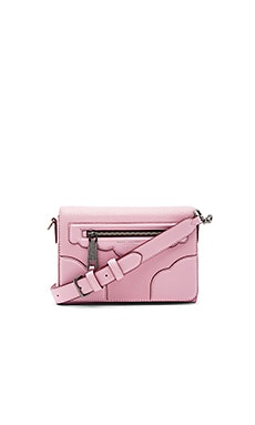 Haze Small Shoulder Bag in Pink Fleur