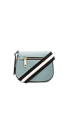 Gotham Small Nomad Shoulder Bag in Dolphin Blue