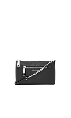 Gotham Small Crossbody Bag in Black