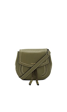 Maverick Mini Shoulder Bag in Army Green