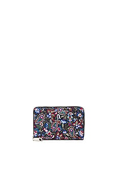 Saffiano Small Standard Wallet in Purple Multi