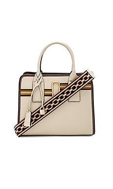 Striped Big Shot Bag