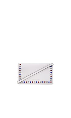 Marc Jacobs P.Y.T. Standard Leather Strap Wallet in Star White