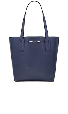 Marc Jacobs Wingman Shopping Tote in Midnight Blue Multi
