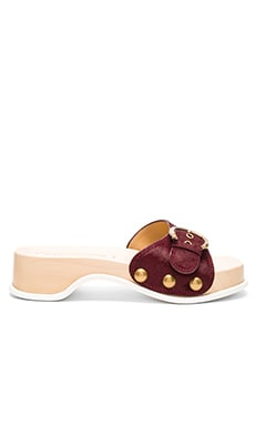 Marc Jacobs Anita Calf Hair Slide Clog