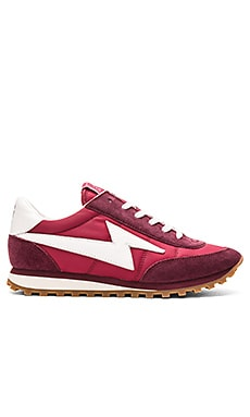 Astor Jogger Sneaker in Bordeaux