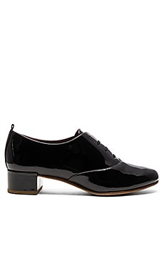 Betty Lace Up Oxford en Noir