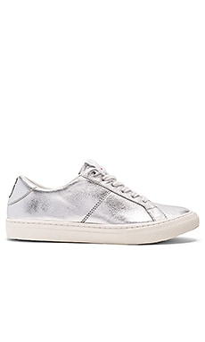 Empire Low Top Sneaker in Silver