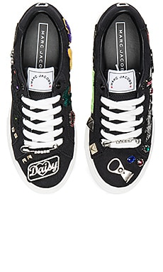 Empire Lace Up Sneaker in Black Multi