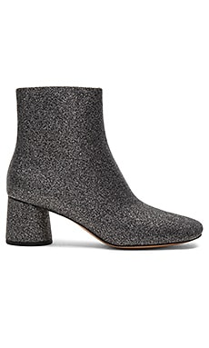 Valentine Ankle Boot in Dark Silver