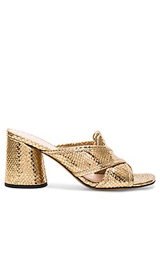 Aurora Mule in Gold