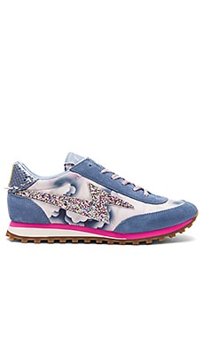 Astor Lightning Bolt Sneaker in Blue Multi